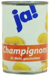 Champignons, geschnitten 3. Wahl