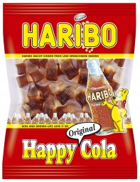 Haribo Fruchtgummi Happy Cola 200g