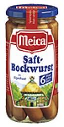 Meica Saft-Bockwurst 6 Stück