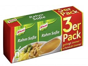 Rahm Soße 3er Pack für 3 x250 ml