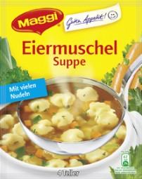 Maggi Eiermuschel Suppe