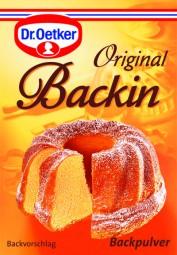 Original Backin Backpulver 3 Stück