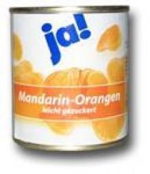 Ja! Mandarin-Orangen 175 g Dose