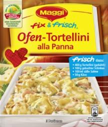 Maggi fix und frisch Ofen- Tortellini alla Penna