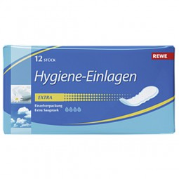 Rewe Hygiene-Einlagen - Extra