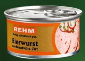 Rehm Bierwurst 125 g Dose