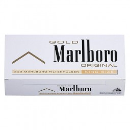 Marlboro Gold Filterhülsen 200er