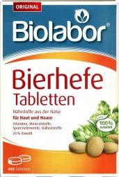 Biolabor Bierhefe Tabletten 400 Stück