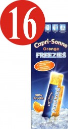 16x Capri-Sonne Freezies Orange 5x50ml