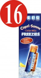 16x Capri-Sonne Freezies Cola Mix 5x50ml