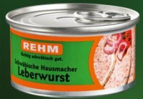 Rehm Hausmacher Leberwurst 125 g Dose