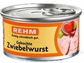 Rehm Gekochte Zwiebelwurst 125g Dose