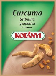 Curcuma Gelbwurz gem.Brief