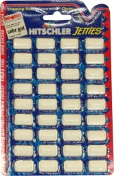 10 x Hitschler Jetties Spearmint je 36 Dragees