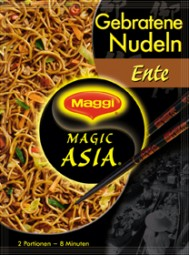 Maggi Magic Asia Gebratene Nudeln Ente 2 Portionen