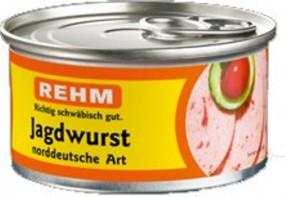 Rehm Jagdwurst norddeutsche Art 125g Dose