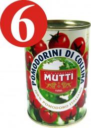 6 x Mutti Pomodori Kirschtomaten - Colina Tomaten 400g
