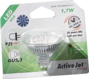 GU 5,3 LED Leuchte 1,7W Rot