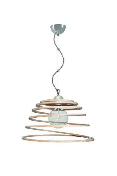 500/1 - Lampex Pendelleuchte Reno 1 metal/wood 80 x 44 cm