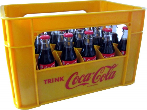 24 x Coca-Cola Classic 0,2L Originalkiste Glasflasche MEHRWEG