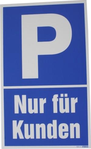 Parkhinweisschild 250x150mm