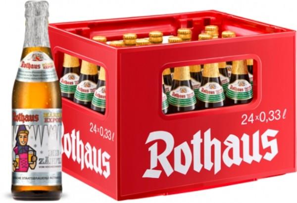 24 x Rothaus Eiszäpfle Märzen Export 0,33 L- 5,6 % Alkohol Originalkiste MEHRWEG