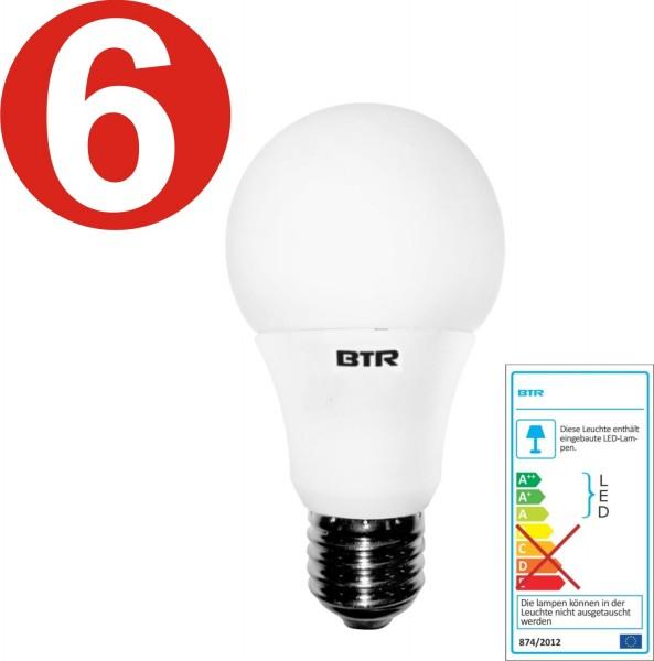 6x Betterlighting - Leuchtmittel LED - BT7925 - A60 9,5W E27 806lm