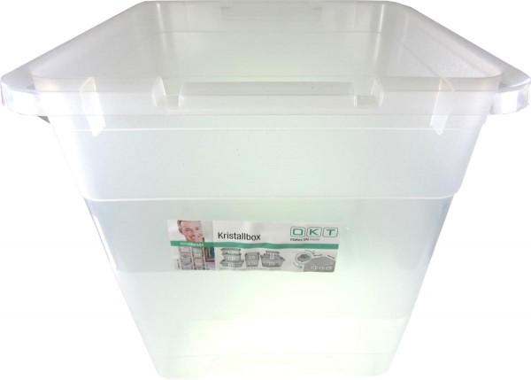 Kristallbox 30 Liter 38x36x36 cm, transparent - ohne Deckel