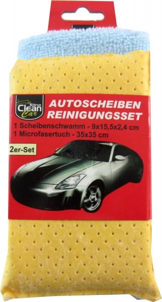 Elina Clean Car Autoscheiben Reinigungsset