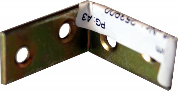 Stuhlwinkel verzinkt 30mm
