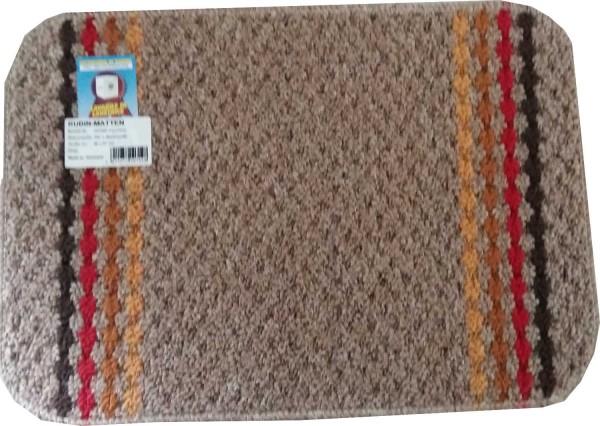 Rubin-Matte Polo Graubraun 40x57 cm