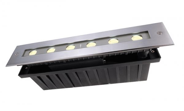 KAPEGO LED LED Bodeneinbauleuchte Line II WW 10W 230V
