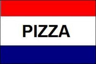 Fahne Pizza 90 x150 cm