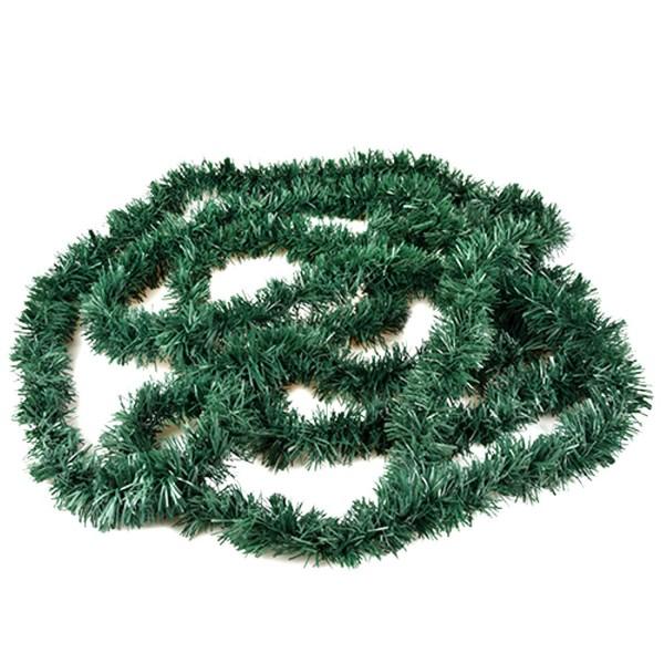 Fest-Girlande Gras grün Kunststoff 5m aus Polyethylen-Folie zum Otoberfest