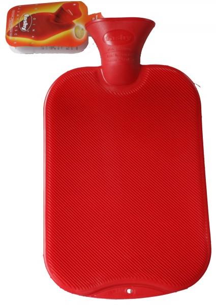 Wärmflasche Halblamelle rot 6440 42 2,0l