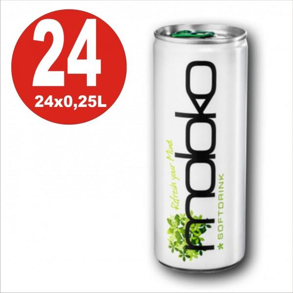 24 x moloko - Zitrone, Holunderblüten und Ingwer, 0,25L