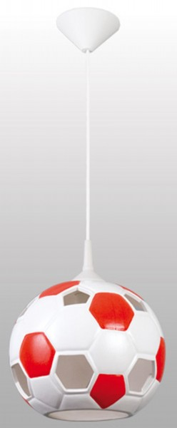 102/PCE - Lampex Pendelleuchte Pilka rot ceramic 115 x 22 cm