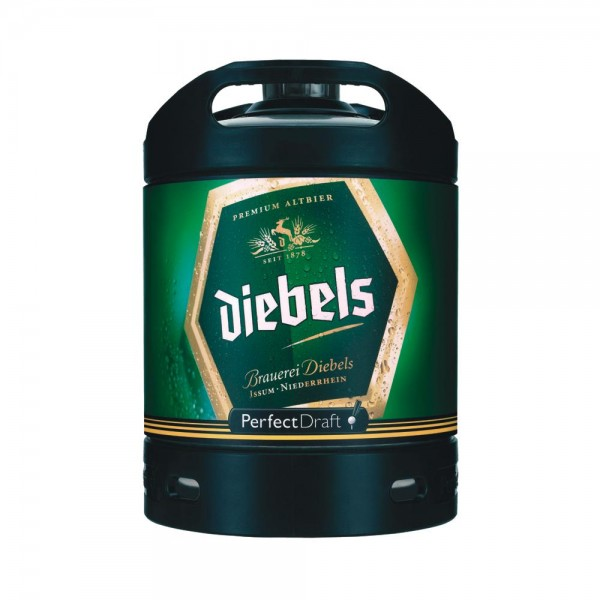 Diebels Alt Perfect Draft Fass 6 Liter 4,9 % vol. MEHRWEG