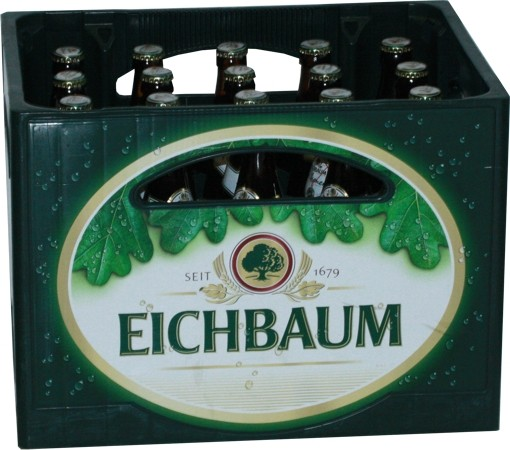 20 x Eichbaum Pilsner 0.5l 4,9% vol. Originalkiste