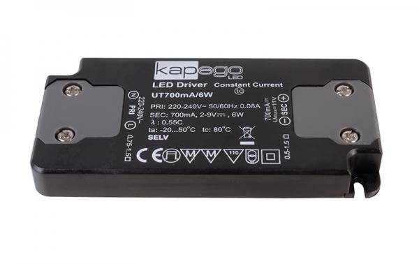 KAPEGO LED LED Flat Power Supply 700mA 6W