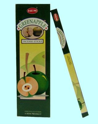 Räucherstäbchen HEM Green Apple