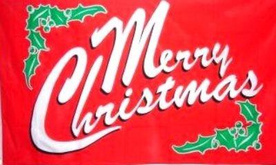 Fahne Merry Christmas 2 90 x150 cm