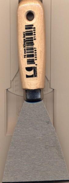 Stoss-spachtel 70 mm Klinge kurz
