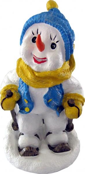 Schneemann auf Ski K498