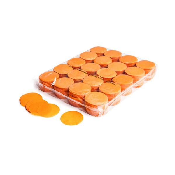 MAGICFX Slowfall confetti rounds Ø 55mm - Orange