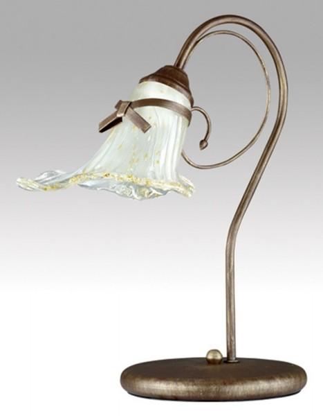 080/LM - Lampex Tischleuchte kokardka metal/glass 45 x 43 cm