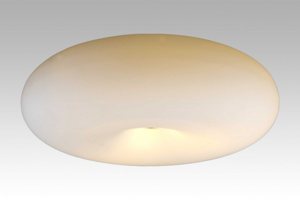 172/P38 - Lampex Plafond Opal 38 metal/glass 12 x 38 cm