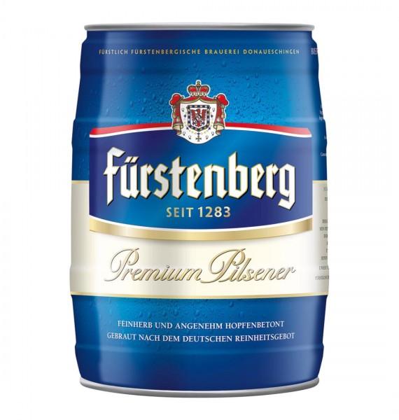 Fürstenberg Partyfass 5 Liter mit Zapfhahn 4,8% vol