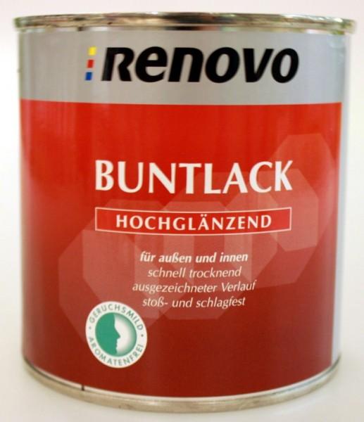 Buntlack-Hochglänzend 375ml - Weinrot