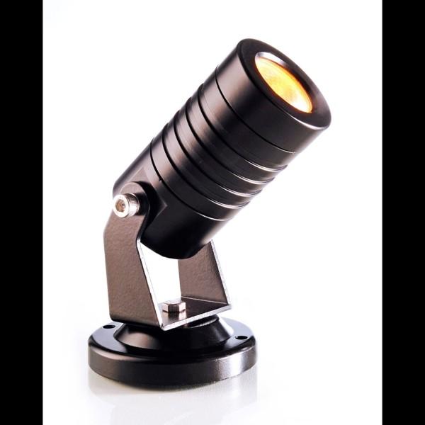 Kapego LED Power Spot Mini Amber 24V 3W 30°› IP65